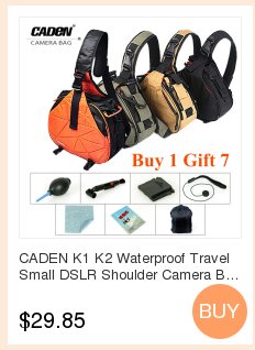 RM8140371775430841. Caden E5 Orange Camera DSLR Tripod Photo SLR Shoulders  Leisure Bag   Rain Cover Bag Travel Backpack Case for Canon Nikon Sony a593293294272