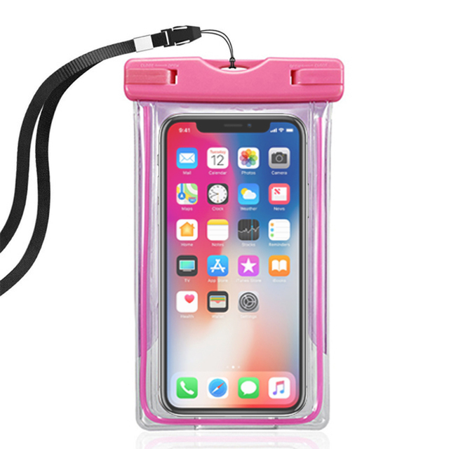 factory authentic 9d11f ee549 US $3.83 23% OFF|Waterproof case for huawei P20/10/P9/P8 lite water proof  caver underwater camera for huawei honor 10/9/7/8 swim phone dry pouch-in  ...