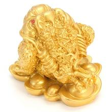 Chinese Feng Shui Money Lucky Frog Toad Coin For Fortune And Wealth