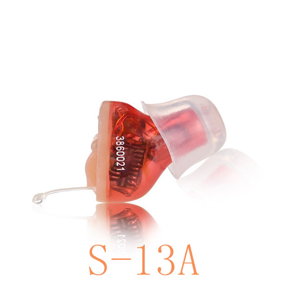 Completely Invisible In The Canal Digital Hearing Aid S 13A shipping for free