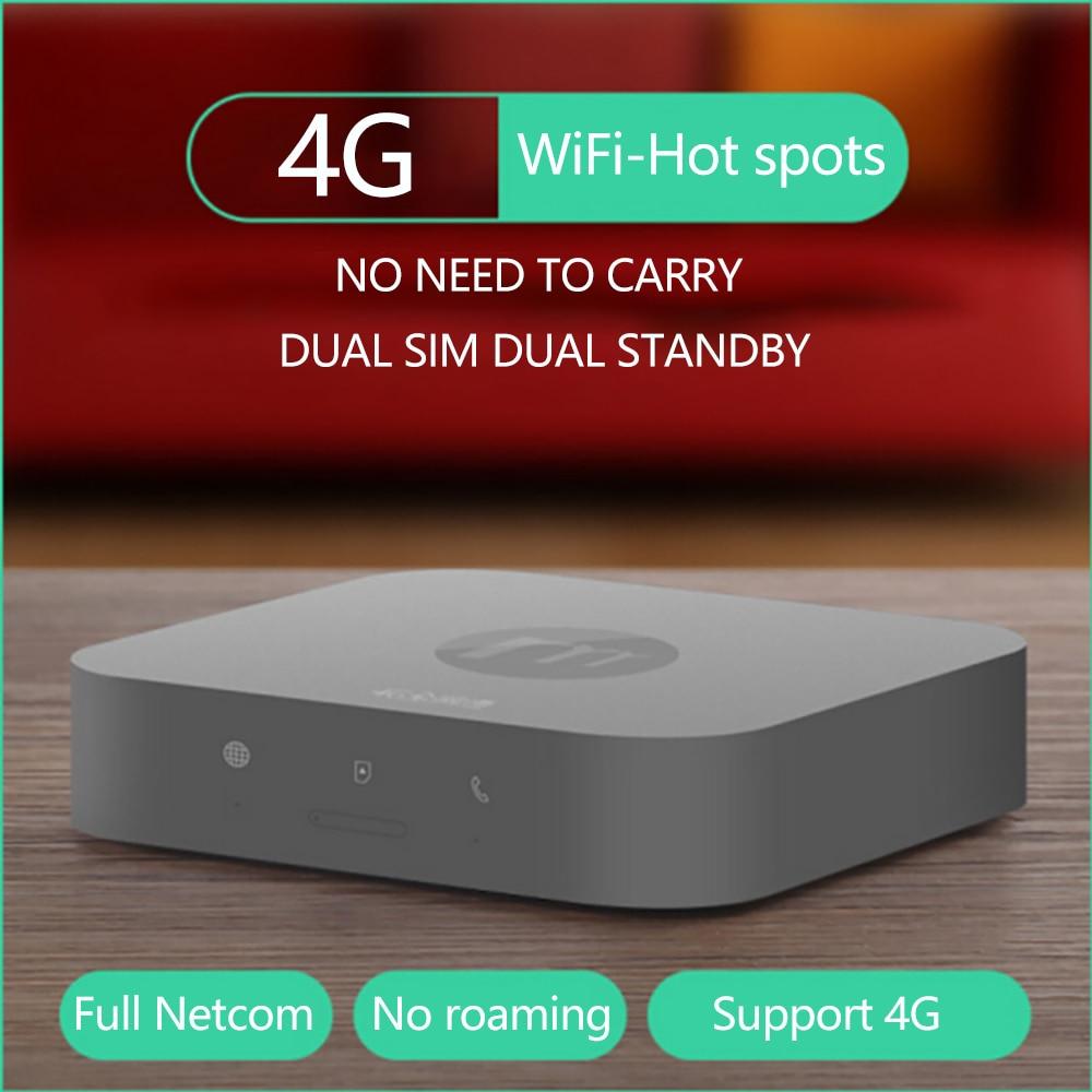 Новые 4 г горячих точках dual sim двойной мини маршрутизатор для iOS и Android, не нужно носить с собой, работа с Wi-Fi/данных, чтобы сделать звонок и sms
