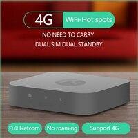 Neueste 4G Hot Spots Doppelsim Doppeleinsatzbereitschaft Mini Router für iOS & Android, keine Notwendigkeit Tragen, arbeit mit WiFi/Daten zu Machen Call & SMS