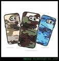 S6 Мягкая Обложка Случай Мобильного Телефона Бумажник Армии Camo Мешок Смартфон Аксессуар Для Samsung Galaxy S6 Чехол