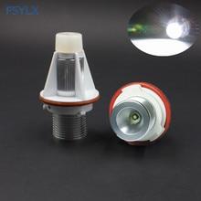 все цены на FSYLX 10W for BMW E39 E53 E63 E64 E65 E66 E67 E87 e83 X3 X5 LED Marker headlight halo Angel Eyes ring Canbus light bulb онлайн