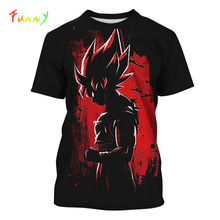 Girls Boys T Shirt Children Clothes Summer 2019 New Dragon Ball T Shirt Kids Tops Unisex Short Sleeve Anime Printed Girl Shirts children s anime my neighbor totoro printed t shirt kids great casual short sleeve tops boys and girls cute t shirt