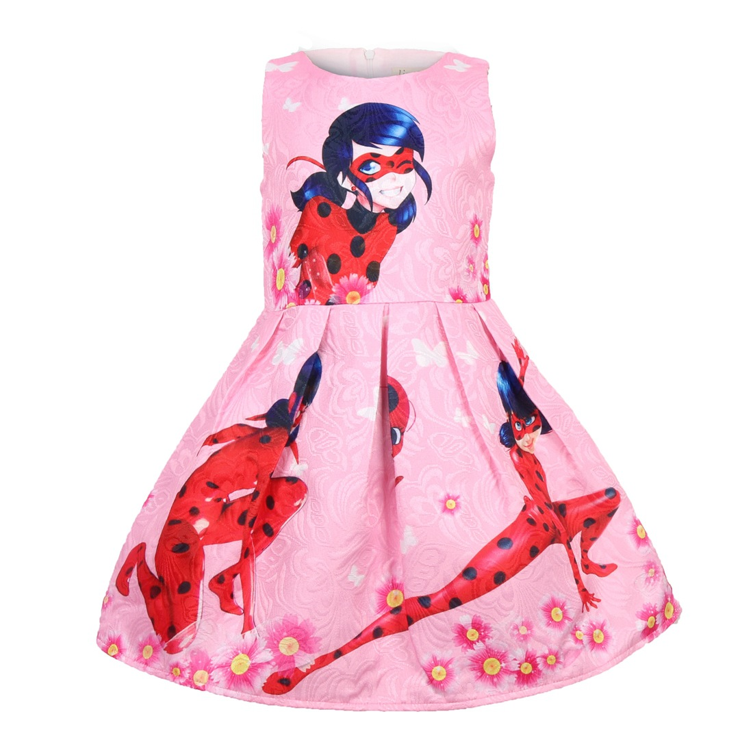 Dropwow Lady Bug Dots Birthday Party Dress Miraculous Ladybug