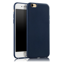 Newest Ultrathin Candy TPU Matte Case for iPhone 7 7 Plus Silicone Gel Soft Slim Back Cover Shell Fashion Elegant For iPhone 6S