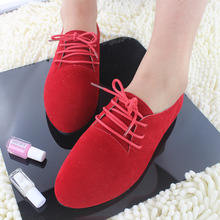 2019 Fashion multi-color single shoes Korean version of womens tip comfortable with a large basket women