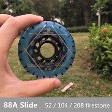 88A Slides Patinação Patins Inline Roda Roda com 52 104 208 firestone Faísca 80mm 76mm 72mm Roller Skate Rodas para HV SEBA HL