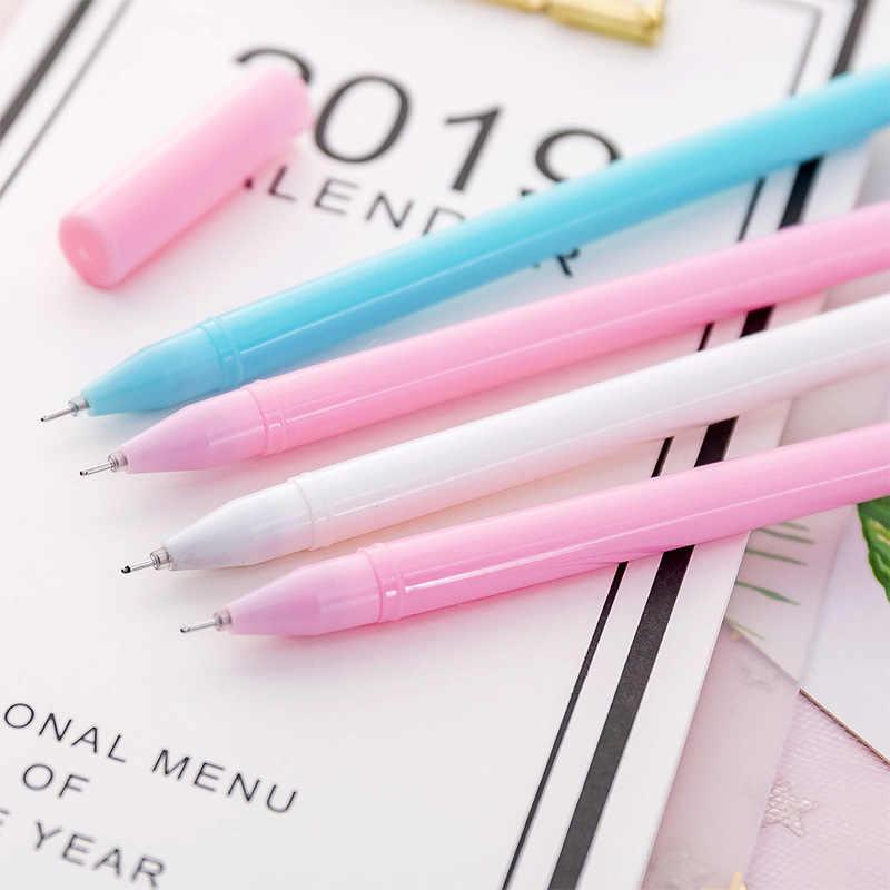 0.38 มม. Creative Flamingo Unicorn ปากกาเจลปากกาลายเซ็น Escolar Papelaria โรงเรียนเครื่องเขียนเด็ก Supply ของขวัญส่งเสริมการขาย
