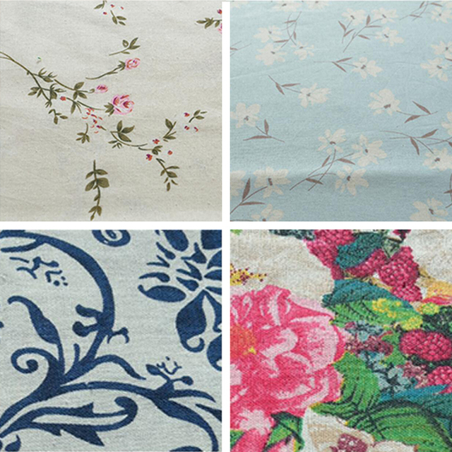 Wholesale(1 meters/lot) Synthetic Linen and cotton Fabric Width 145cm For Dress Summer Clothing Lycra Curtain Scarves Cloth