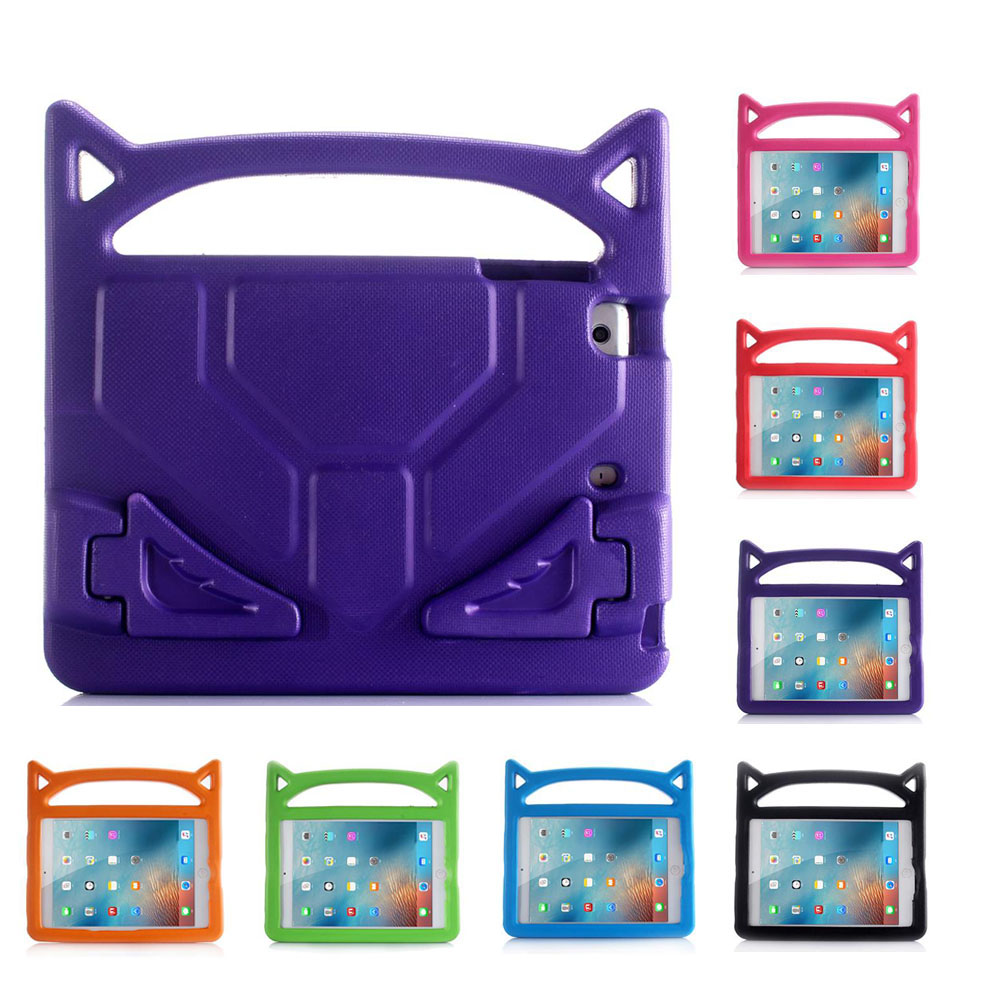 XSKEMP Kids Friendly Light Weight Shockproof Tablet Case Convertible Handle Stand Cover For Kindle fire HD 7.0 2015 + Pen Stylus image