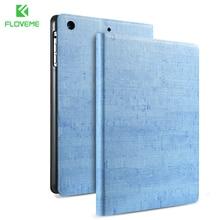 FLOVEME Original Clásico Patrón de Piedra Caso Para Apple iPad Mini 1 2 3 360 Completo Concha Protectora Mini1 Mini2 Mini3 Cubierta de Cuero