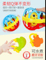Hand rattle baby toy newborn rattle 0 1 year old baby puzzle early education hand rattle gum