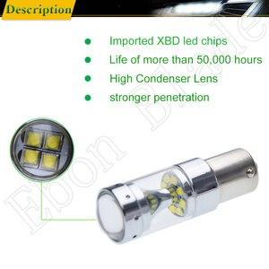 Image 4 - 2Pcs 1156 ba15s p21w py21w bau15s 1157 bay15d p21/5 w led אורות cree xbd 60W אוטומטי מנורת נורות רכב led אור סטיילינג 12V 24V DC