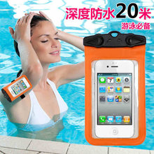 Waterproof Mobile Phone Bags with Strap Dry Pouch Cases Cover for Samsung galaxy S7 for iPhone 6 5S SE 6S Plus Swimming Case New