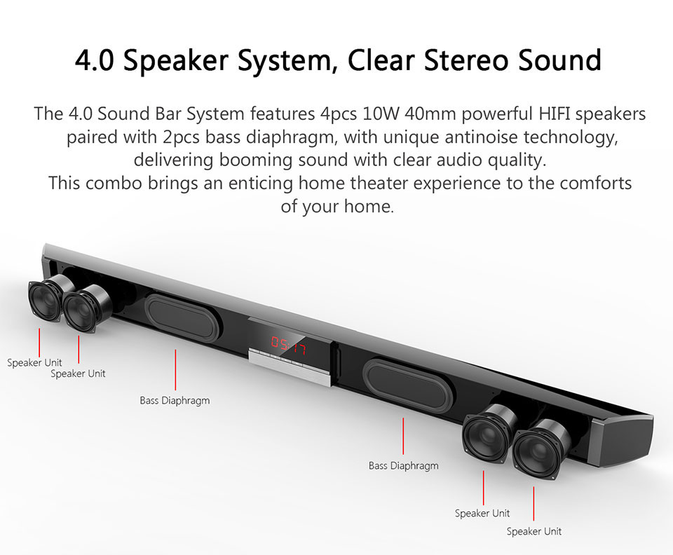 wireless soundbar