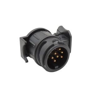 Image 4 - Waterproof 13 to 7 Pin Plug Trailer Truck Electric Adapter Towbar Towing Socket