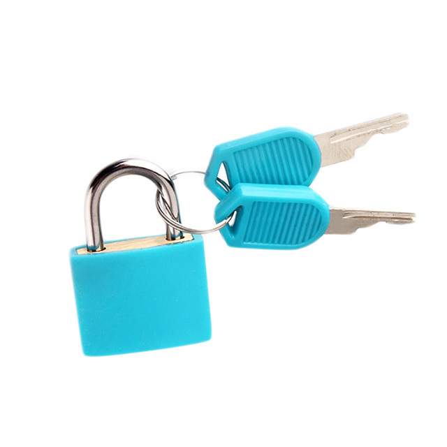 Mini Travel Lock with 2 Keys