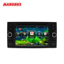 "MARUBOX 2 Din Android 8.1 For Ford Focus 2008-2011 Fiesta Mondeo Transit C-Max 7"" IPS GPS Stereo Radio DVD Car Player 7A601MT8(China)"