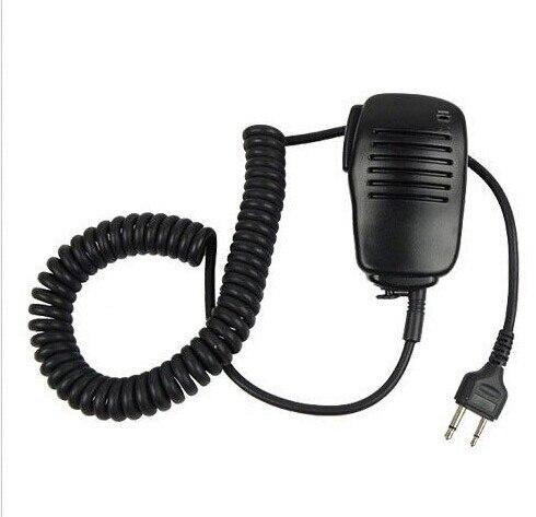 XQF Handheld PTT Speaker Mic Microfone para ICOM Rádio Em Dois Sentidos Walkie Talkie IC-A2 IC-V80 IC-V85 IC-F3S IC-V82 para Vertex VX-200