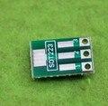Frete Grátis!! 10 pcs SOT 89 vez DIP/SOT 223 vez DIP/adaptador placa/1.5mm pitch pitch universal patch/Componente Eletrônico