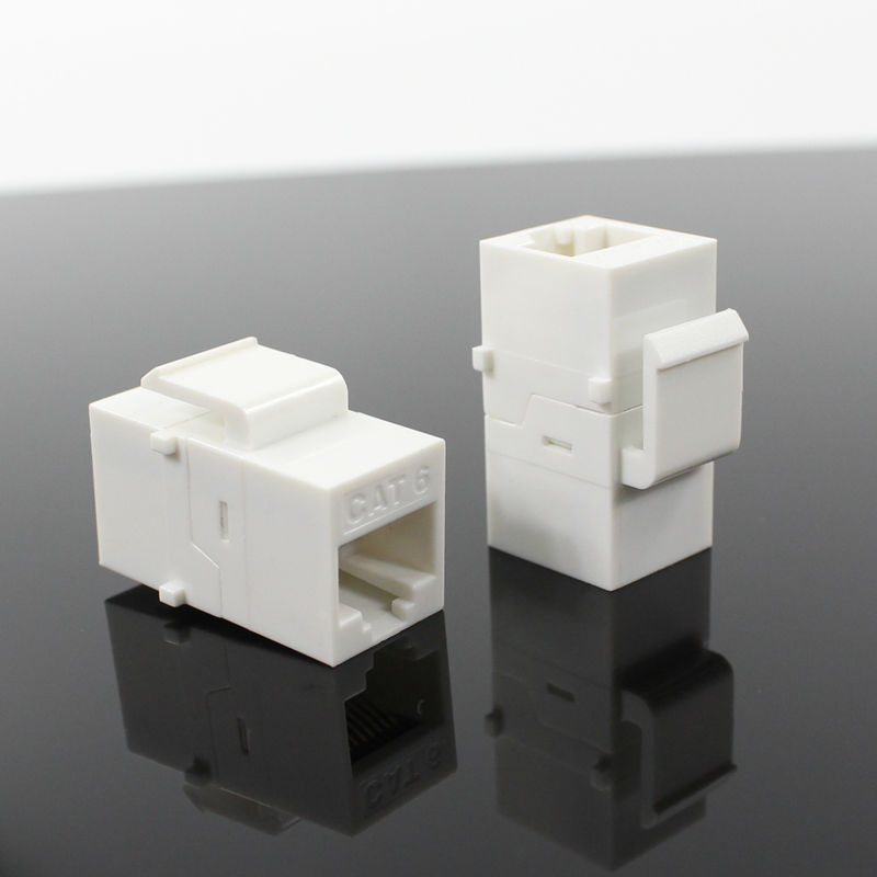 BELNET RJ45 Cat6 Keystone Coupler connector Modular inline Coupler 8P8C Female to Female rj45 Network Cable Adapter Extender network socket hr 911105 c brand new goods in stock network transformer 59 8 p 8 c bring lamp bring shrapnel rj 45
