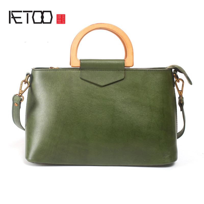 AETOO Retro Original Shoulder Skirt Set Collar Chocolate Candy Handbag Leather Handbag Leather Handbag Leather HandbagAETOO Retro Original Shoulder Skirt Set Collar Chocolate Candy Handbag Leather Handbag Leather Handbag Leather Handbag