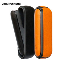 JINXINGCHENG Full leather Case for iqos 3.0 Cover Pouch Case and Side Cover Holder Box Protective Shell Accessories