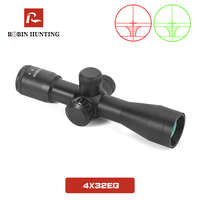4x32 EG Tratical Hunting Riflescope Illuminated Optical Sight Adjust Scopes Rangefinder For Airsoft Air Gun Hunt Rifle Scope