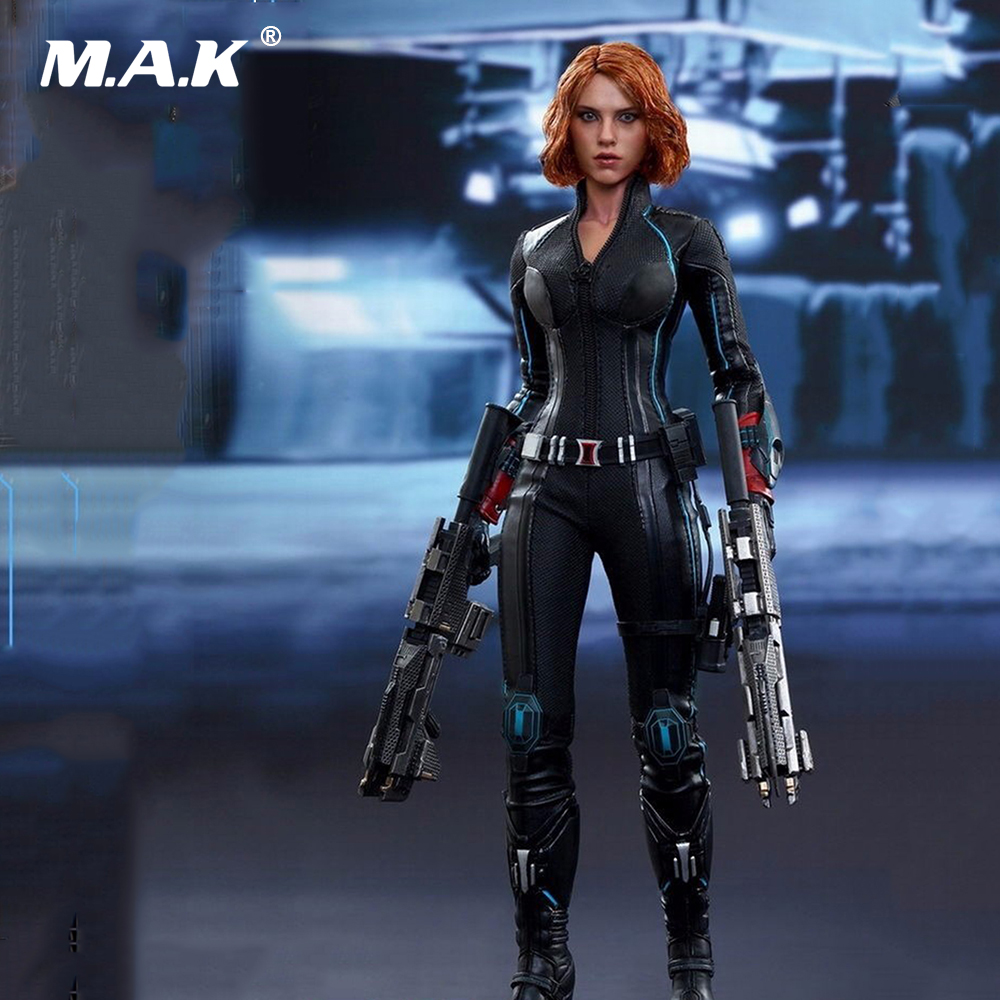 In Stock Full Set Female Captain America Figure MMS288 Avengers Age of Ultron Black Widow 4.0 1/6 Collectible Action Figure avengers age of ultron captain america pvc action figure collectible model toy 9 23cm