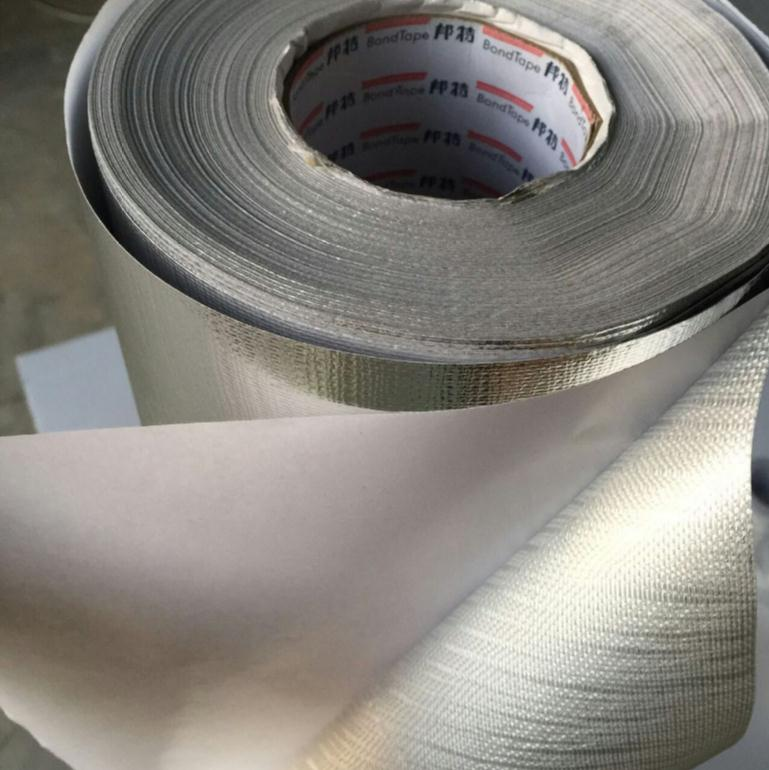 10 Meters Aluminum Foil Glassfiber Adhesive Cloth,  Fireproof, Waterproof ,floor Wall,Auto Car Hot ,cold Protective Matting