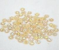 5mm Jelly Light Peach AB Color SS20 Crystal Resin Rhinestones Flatback Nail Art Rhinestones 30 000pcs