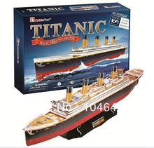 TITANIC CubicFun 3D educational puzzle Paper & EPS Model Papercraft Home Adornment for christmas gift