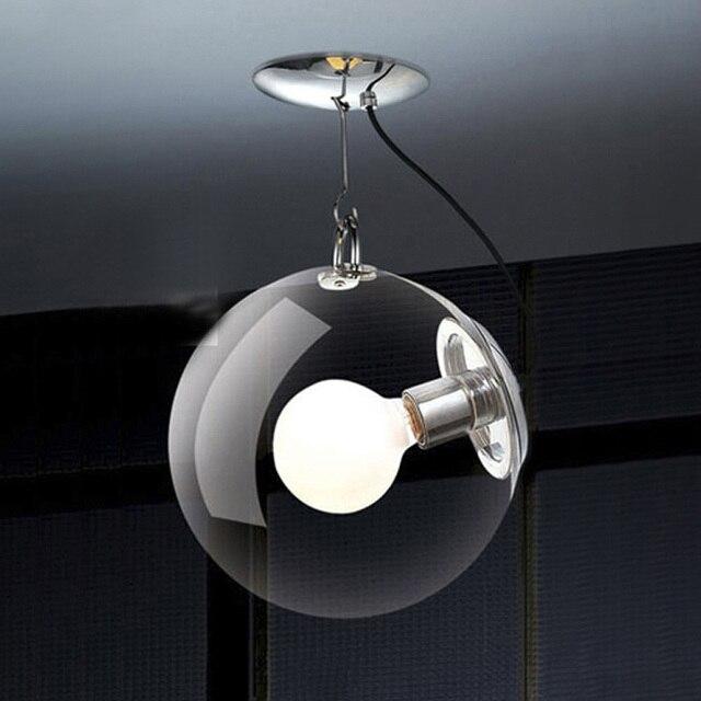 Italienische Transparentem Glas Seifenblase Schlafzimmer Deckenleuchte Wohnzimmer Kreative Modernen Speisesaal