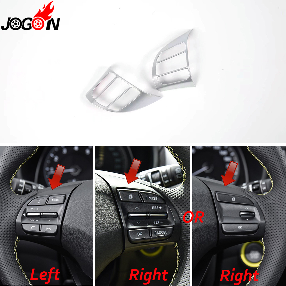 For Hyundai Kona Kauai Encino 2018 2019 Car Steering Wheel: For Hyundai Kona Kauai Encino 2018 Car Styling Interior