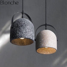 Nordic Cement Pendant Lights Led Hanging Lamp Modern Hanglamp Luminaire for Living Room Kitchen Bar Home Decor Lighting Fixtures(China)