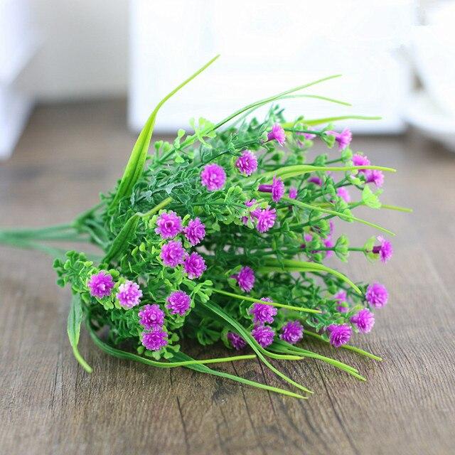1edbb1c86abd1b Sztuczny eukaliptus bukiet symulacji trawa z tworzywa sztucznego fałszywe  meble kwiat/kompozycja kwiatowa/zielona