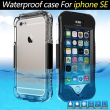 For Apple iPhone SE Case Waterproof Phone Cases IP68 Dirt/Dust/Snow Proof for iphone SE 5s 6s for Samsung Galaxy S7 edge Cover