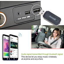 Stereo audio USB bluetooth receiver wireless bluetooth car k