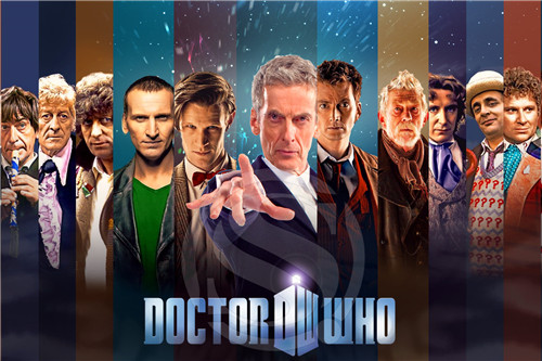 F-235 Custom doctor who &r Home Decor Fashion modern For Bedroom Wall Poster Size more size Silk Poster F83-235ix