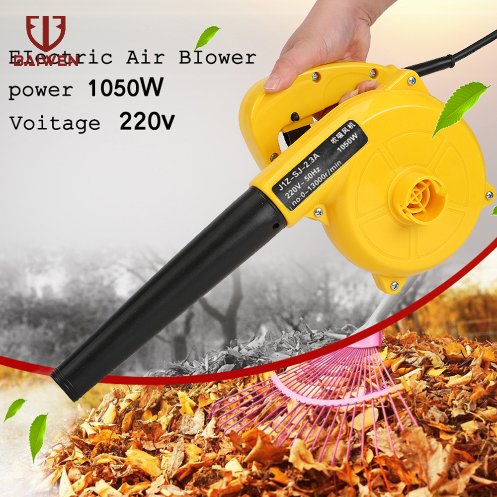 1050W Electric Air Blower Vacuum Cleaner High Efficiency for Computer Furniture Car 220V Blowing Dust collecting