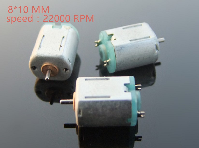 1pcs high quality metal <font><b>4.5v</b></font> 22000rpm DC <font><b>motor</b></font> N10 Micro DC <font><b>Motor</b></font> for Science and Technology Making model aeroplane and car image