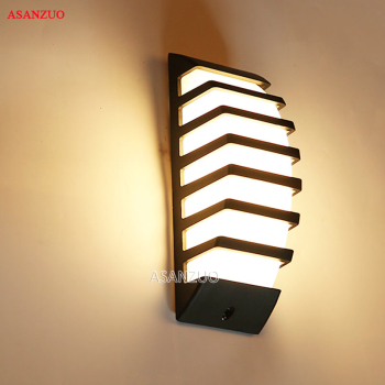 Aluminum Outdoor sconce Wall Light 7W COB LED Wall Lamps AC85-265V Courtyard balcony lamps Garden lamp Porch Light outdoor led wall lamp waterproof ip54 porch lights garden wall lamps aluminum alloy courtyard corridor porch lights ac85 265v