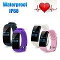 Smartwatch Bluetooth Relógio Inteligente Pulseira Pulseira Banda de Freqüência Cardíaca D21 Smartband Atividade Rastreador de Fitness para IOS Android