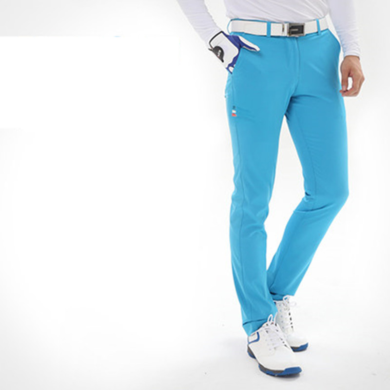2018 new PGM genuine golf men's ultra-thin pants spring long pants TEE pants pants have a ball TEE socket easy to play the next