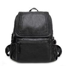 Водонепроницаемый рюкзак Для женщин Пояса из натуральной кожи Рюкзаки дамы Обувь для девочек школьная сумка женская мода Дорожные сумки