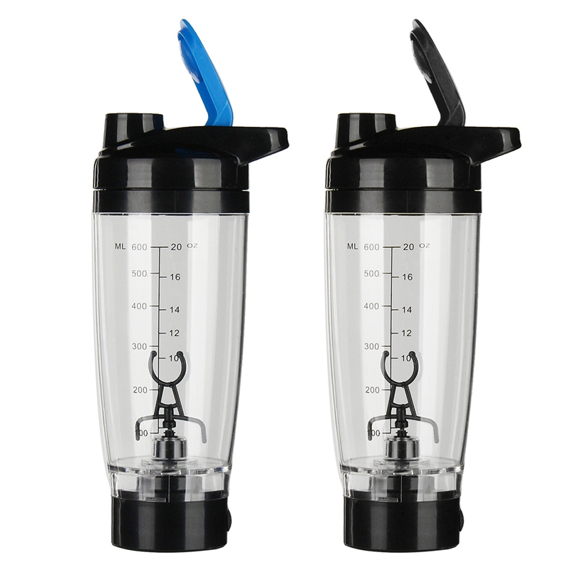 Lazy Self Stirring Mug 600ml Auto Mixing Coffee Cup Shaker Cyclone Cup Electric Protein Shaker Blender