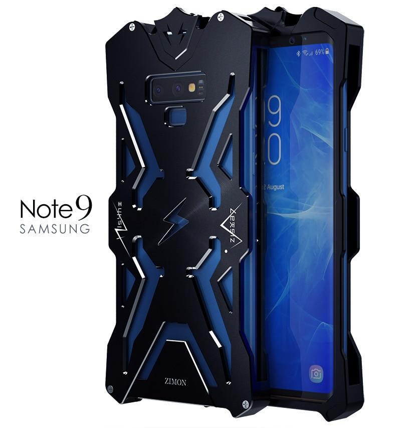 Оригинальный Simon THOR Железный человек металлический алюминиевый чехол для телефона s для SAMSUNG Galaxy Note 9 Мужской классный чехол для телефона Ins популярный подарок