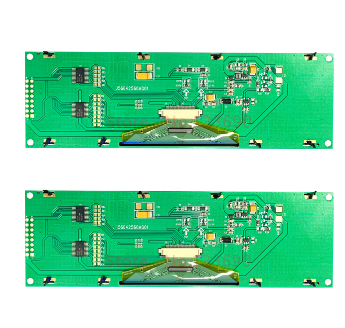 Image 4 - 5.5 inch 16PIN Green or Yellow OLED Screen module SSD1322 Driver 256*64 8Bit Parallel SPI serial Interface 3/4 wire serial port-in LCD Modules from Electronic Components & Supplies